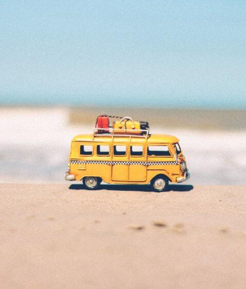 autobus viaja fuera