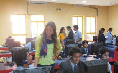 enseñar español en la India